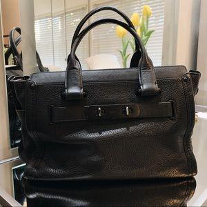 Coach Swagger Carryall Bag Matte Black